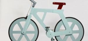 Bicicletta in cartone riciclato